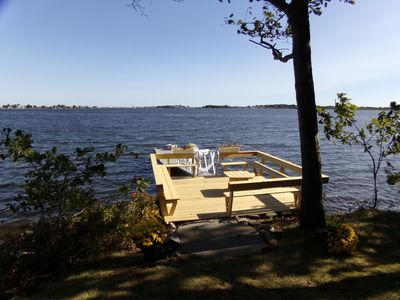 Photo for KITTYCOVE #39179 Spacious waterfront home on Biddeford Pool tidal water