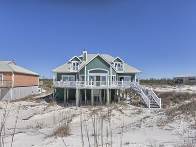 Photo for Peace Of Mind Fort Morgan Gulf Front Vacation House Rental - Meyer Vacation Rentals