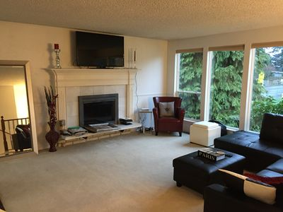 Photo for Furnished Home on Wooded Corner Lot in Edmonds