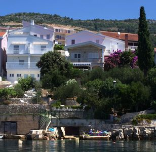 Photo for Apartment Mediterranean Villa for 4 persons with sea view terrace, garden