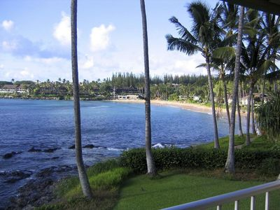 Photo for Napili Shores A-201: Oceanfront Studio