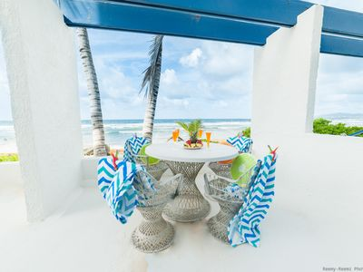Photo for Charming home away from home! Steps from the ocean - enjoy Bella Breeze!