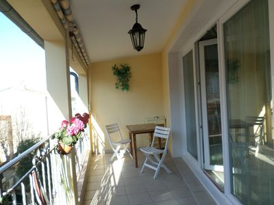 Photo for Beautiful 3 terrace rooms in the heart old town, beach and harbor 250 m