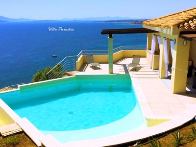 Photo for Gorgeous holiday villa with private pool and the most breathtaking sea views.