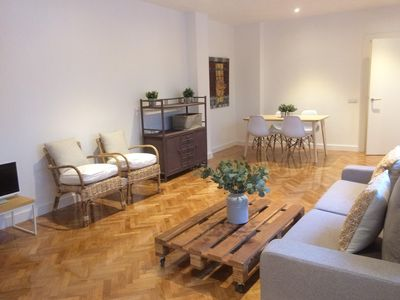 Photo for Nice and bright apartment in Centro - Chueca-Alonso Martínez-Gran Via