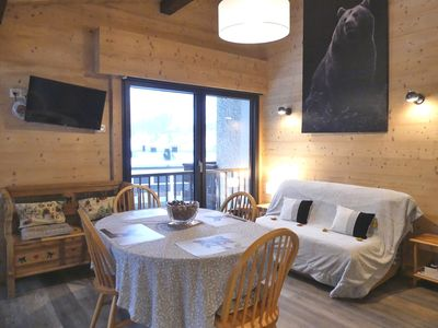Photo for Sapaudia G - Apartment for 5 people 2*, ski on the feet, nice view