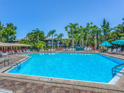 Photo for Spacious, waterfront condo w/ a shared hot tub, pool, tennis, & volleyball