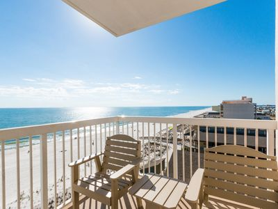 Penthouse #804 Direct Gulf Front West Corner Heated Indoor & Outdoor Pools