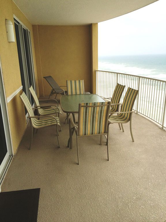 Spacious 15th floor gulf front condo emer vrbo for 15th floor on 100 floors
