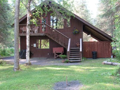 Photo for A Private Riverside Suite, Tucked In The Mountains, Just 30 Minutes From Seward