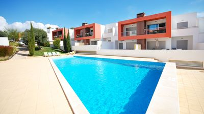 Photo for UP TO 43% OFF! Modern apt in  complex w/ 3 pools, garden, BBQ, AC, free WiFi