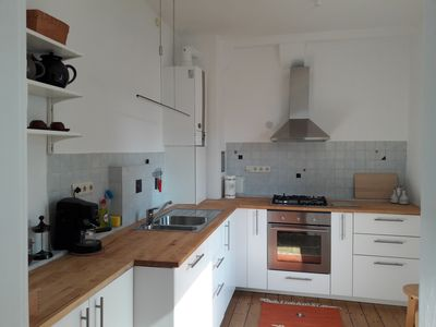 Photo for Nice apartment with garden, very close to the city center