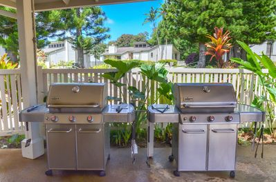 BBQ Grills Througout the property