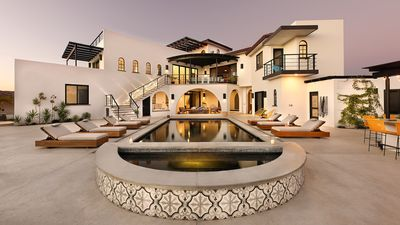 Photo for Villa Hope - New luxury estate steps from the beach