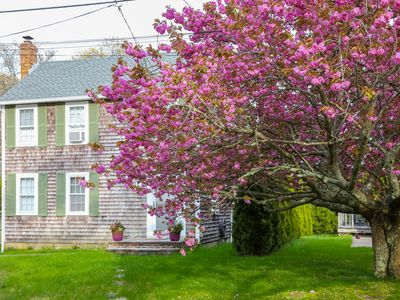 Charming, dog-friendly home away from home near Lagoon Pond w/ boat launch