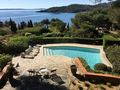 Photo for Splendid villa on the French Riviera with outstanding sea view - Private pool