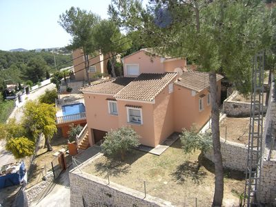 Photo for Holiday house in Jávea, for 6 people with swimming pool.