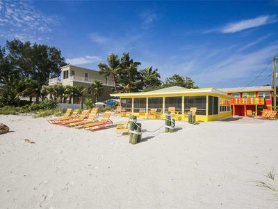Relax at this beachfront pet friendly home