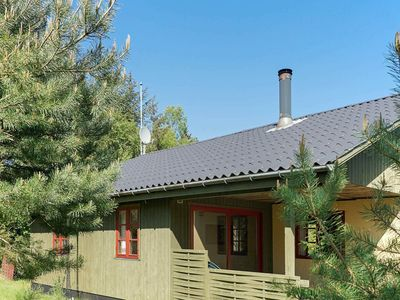 Photo for Spacious Holiday Home in Aakirkeby Denmark with Terrace