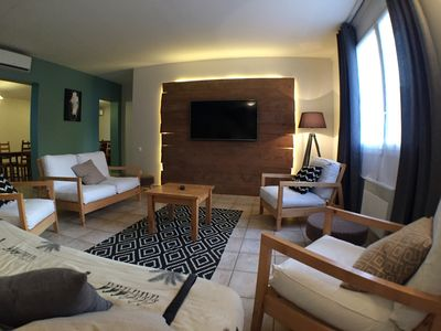 Photo for Large, comfortable holiday home with swimming pool (12 persons)