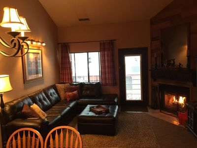 Photo for Ski-In/Ski-Out Condo! Spacious, Cozy, Convenient. Great for Couples and Families