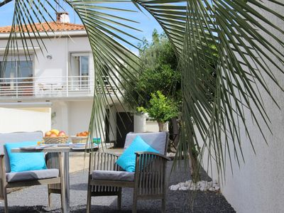 Photo for Villa 100 meters from the sea, terrace, garden, Grau d'Agde, 12 people