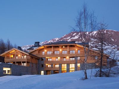 Photo for Luxury apartments close to the slopes in the enormous ski area of L'Alpe d'Huez