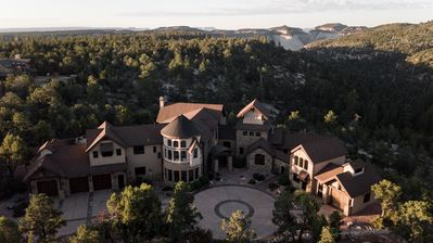 Photo for 9,300 Sq Ft.  Spectacular  Mountain Villa   Sleeps