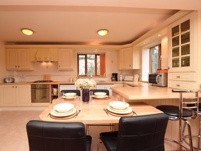 Dining and kitchen with all you need
