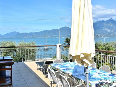 Photo for Casa al Lago With Pool And Lake View - Apartment for 6 people in Torri del Benaco