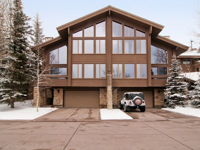 Photo for Ski-in/ Ski-out Upper Deer Valley Silver Lake Townhouse