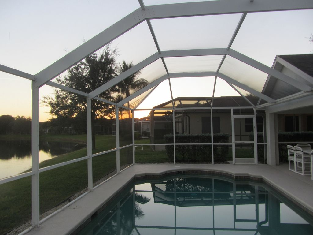 Lake View Villa With Private Heated South Facing Pool
