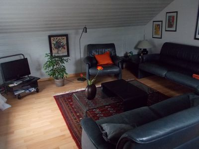 Photo for 2-room apartment in a family house with garden, close to the North Sea, kl. Stichstr., Quiet