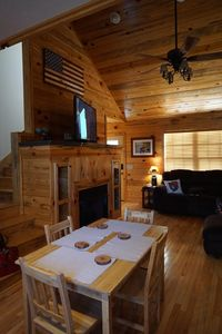 Photo for Cozy cabin nestled in gorgeous North Georgia Mountains!