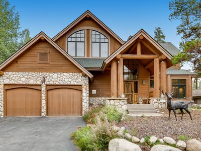 Photo for Luxury Log Home On Keystone's River Golf Course (or Nordic Trail in Winter)