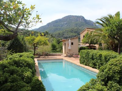 Photo for Superbly located Soller townhouse with pool, just 6 minutes walk from the square