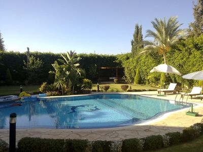 Photo for Large luxury villa with swimming pool & jacuzzi.