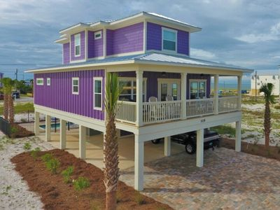 Photo for Brand New 5BR/4.5BA GULF VIEW house with a private heated POOL