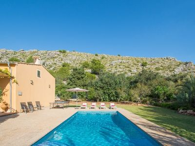 Photo for 2 bedroom Villa, sleeps 4 in Sant Vicent de sa Cala with Pool, Air Con and WiFi