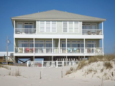 Photo for Big Breezy West ~ 5 BR, 4 BTH ~ Gulf Front ~ Pool ~ Sleeps 14!