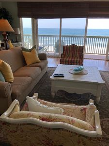 Photo for Beach Front - Views - On The Strand - Ps. 5:11 Sleeps 7 - Sunset Cottage