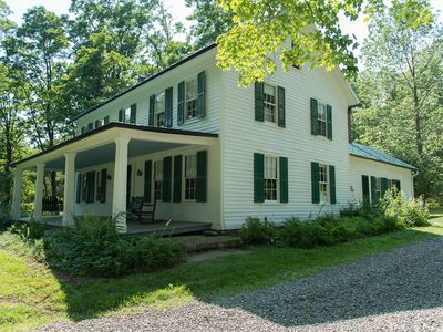Photo for Charming, beautifully restored, center hall colonial on 45 acres of land