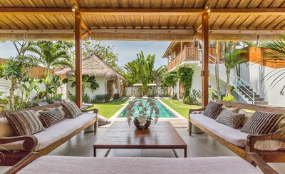 Photo for Eco Chic 5BDR Oberoi/ Central Seminyak/beach