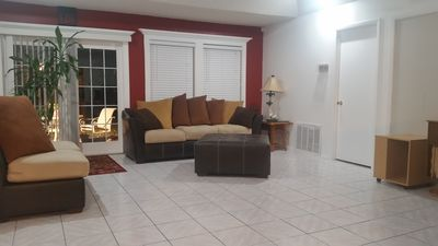 Photo for 10 minutes from UNIVERSAL STUDIO(UBER cost $8.99). Large 4 Bedroom Home. 5 Beds.