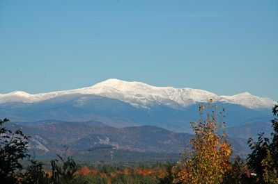 THIS PICTURE Is From The Deck!  Views Mount Washington, Moat Mtn & Mt. Chacorua