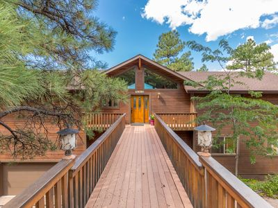 Big cabin in Munds Park close to Sedona, Flagstaff, NAU, Grand Canyon, Skiing