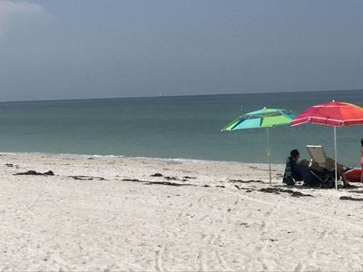 Photo for Beach Paradise on the Gulf of Mexico, toes in the sand, sunsets, tennis, gym !