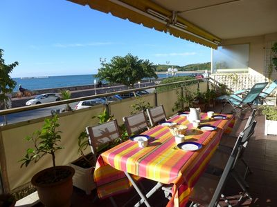 Photo for 3 bedroom Apartment, sleeps 6 with FREE WiFi and Walk to Beach & Shops