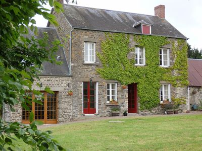 Photo for Lovely two story detached stone farmhouse with large area garden and rural views