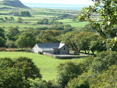Photo for Secluded Luxurious 5* 3 Bed Cottage with Sea Views in private woodlands
